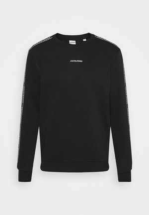JCOZTAPING CREW NECK - Sweatshirt - black
