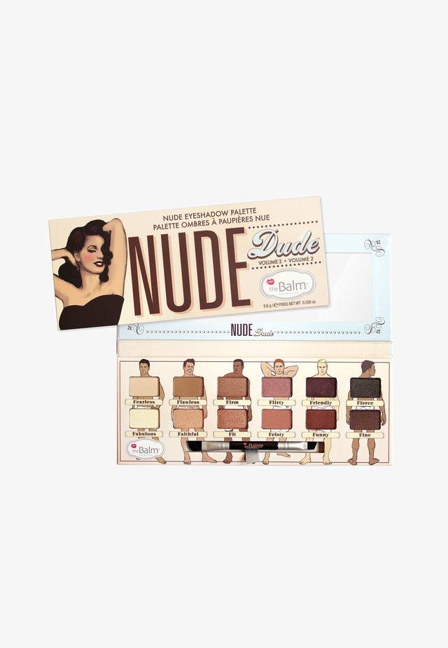 EYESHADOW PALETTE - Palette fard à paupière - nude dude
