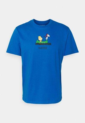 PEANUTS - Print T-shirt - imperial blue