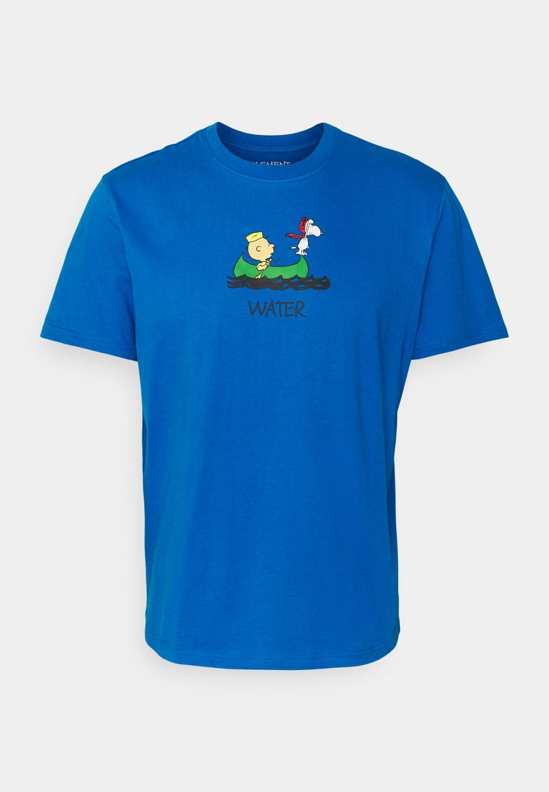 Element - PEANUTS - T-shirt con stampa - imperial blue
