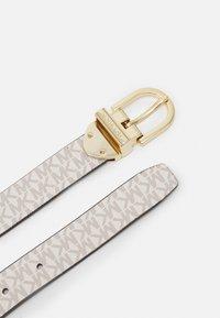 MICHAEL Michael Kors - REVERSIBLE BELT - Belte - luggage gold - 3