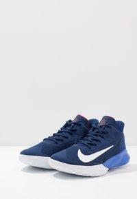 Nike Performance - PRECISION 4 - Zapatillas de baloncesto - blue void/white/racer blue/red crush - 2
