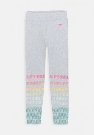 HIGH RISE - Leggings - Trousers - grey
