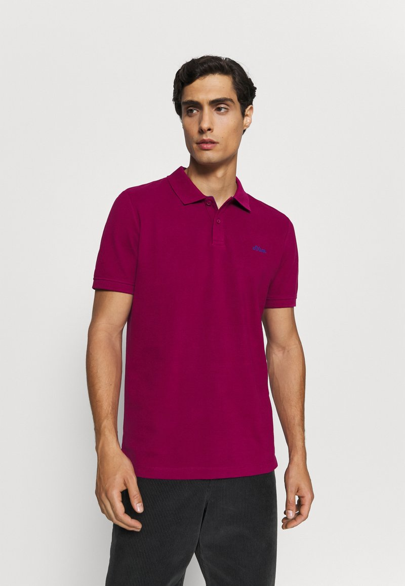 s.Oliver - KURZARM - Polo shirt - pink