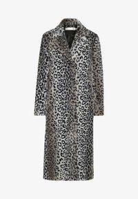 InWear - Classic coat - leo fur - 4