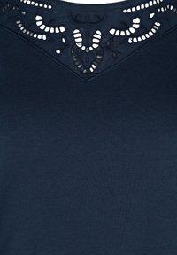 Zizzi - Sweatshirt - blue - 4