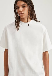PULL&BEAR - T-shirts basic - white - 3
