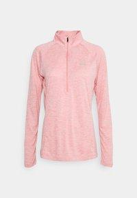 TECH 1/2 ZIP TWIST - Sports shirt - pink