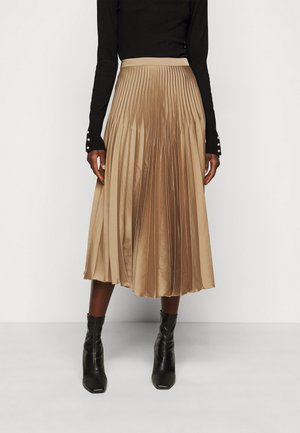 SLFHARMONY PLEATED SKIRT - A-line skirt - tigers eye