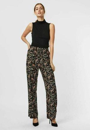 VMSIMPLY EASY WIDE PANT - Pantalones - black