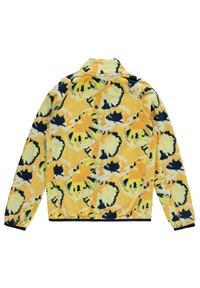 O'Neill - PRINTED FULL ZIP - Fleece jacket - yellow aop w/ brown - 1