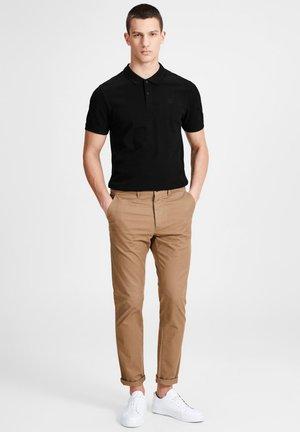 Polo shirt - black/grey/navy