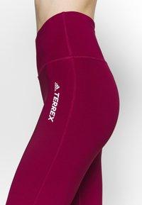 adidas Performance - TERREX - Tights - berry - 3