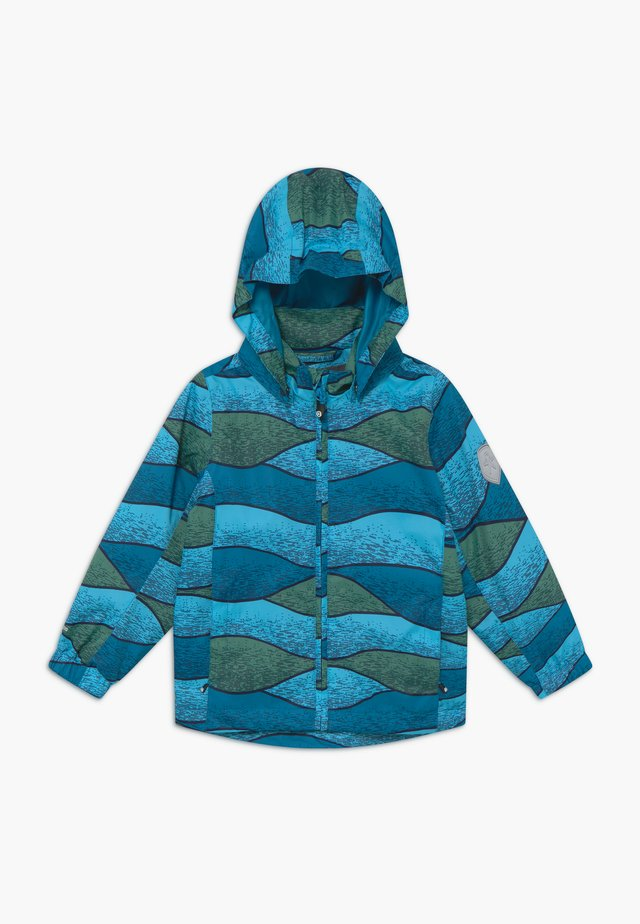 ESBEN JACKET - Impermeable - bluejay