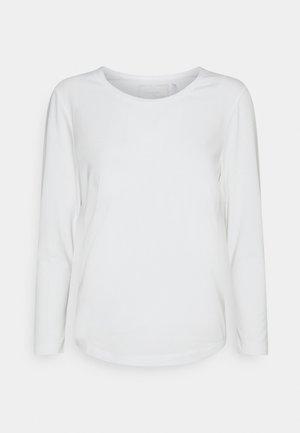 LONGSLEEVE SANDY - Pitkähihainen paita - white alyssum