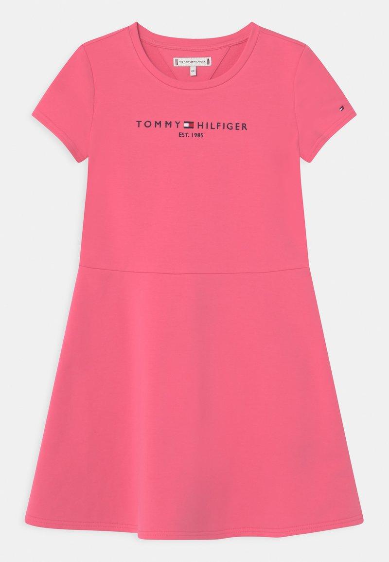 Tommy Hilfiger - ESSENTIAL SKATER  - Denní šaty - exotic pink