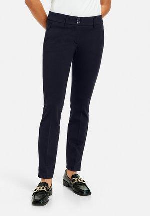 FREIZEIT SKINNY LOW - Trousers - marine
