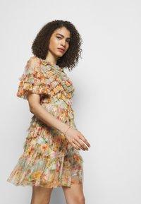 Needle & Thread - SUNSET GARDEN MINI DRESS - Robe de soirée - multicolor - 3