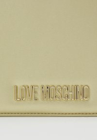 Love Moschino - Across body bag - gold - 5