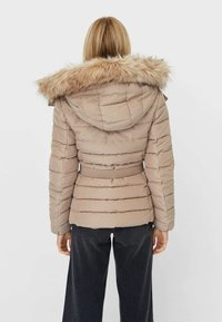 Stradivarius - Winter jacket - brown - 2