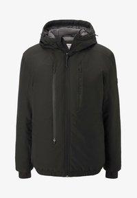 TOM TAILOR DENIM - MIT KAPUZE - Light jacket - black - 4