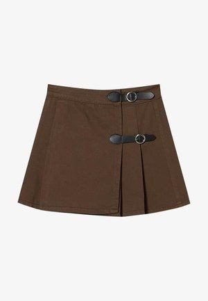 Jupe trapèze - dark brown