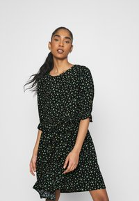 Even&Odd - Day dress - black/yellow - 3