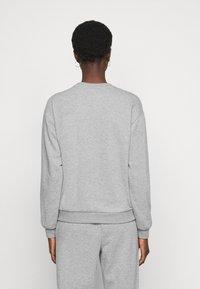 Vero Moda Tall - VMNATALIA SET  - Sweatshirt - light grey melange - 3