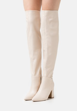 JOSEPHINE - Over-the-knee boots - offwhite