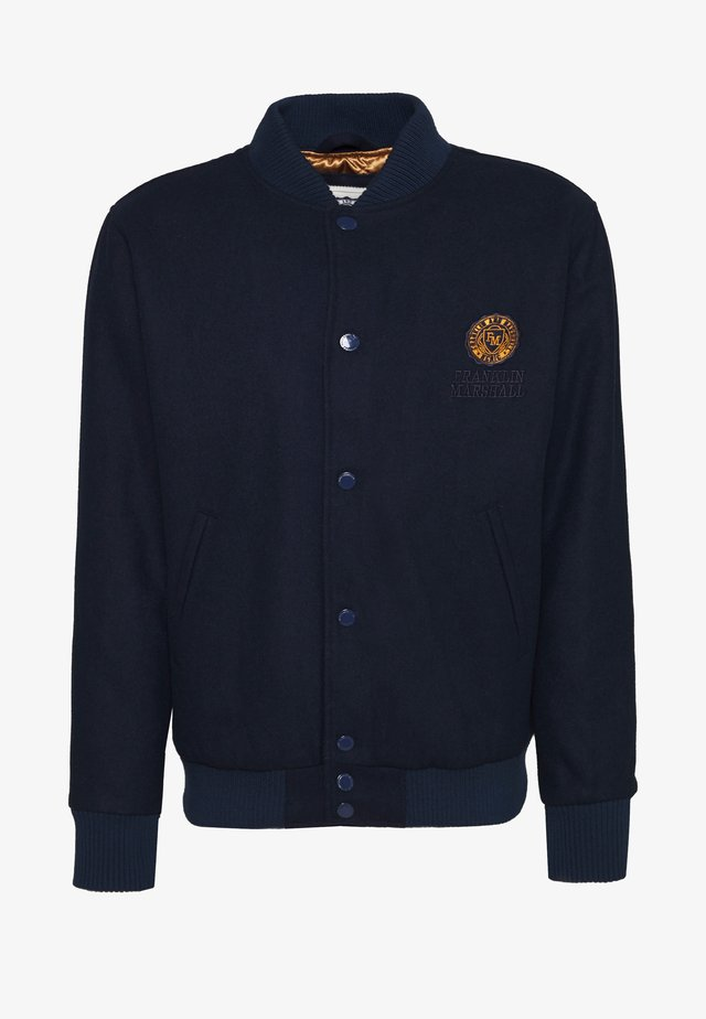 JACKET - Giubbotto Bomber - navy