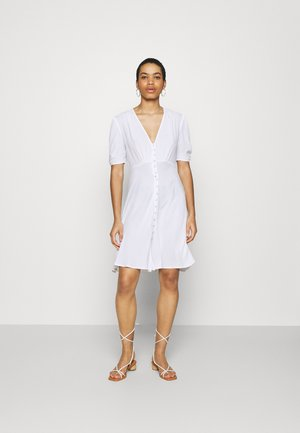 SABRINA DRESS - Korte jurk - white