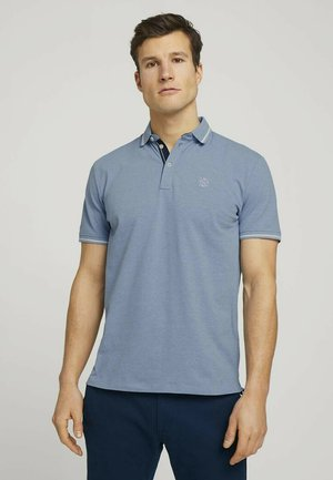 Polo shirt - yonder blue dark melange