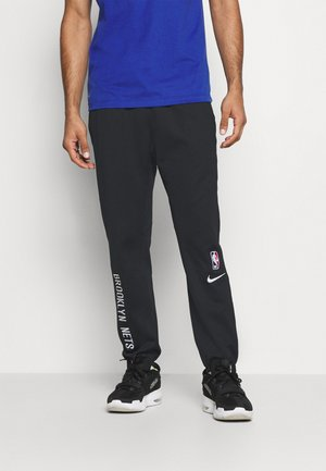 NBA BROOKLYN NETS THERMAFLEX SHOWTIME PANT - Klubtrøjer - black/black/white