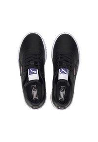 Puma - CALI YOUTH - Trainers - black/rosewater/purple - 2