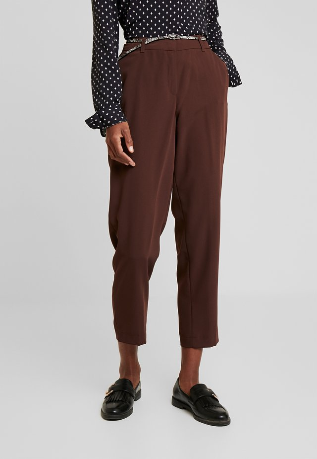 Pantalon classique - mystc marsala