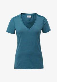 Reebok - ACTIVCHILL TEE - T-shirt basic - heritage teal - 5