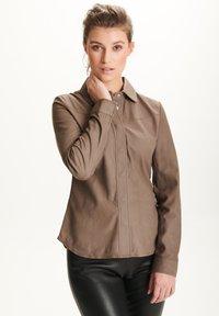 BTFCPH - STEPHANIE - Button-down blouse - stone - 0