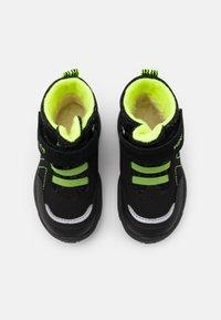 Superfit - GLACIER - Winter boots - schwarz/gelb - 3