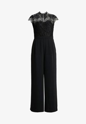 LEONA WIDE LEG - Jumpsuit - black