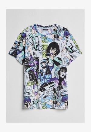 T-Shirt print - nude