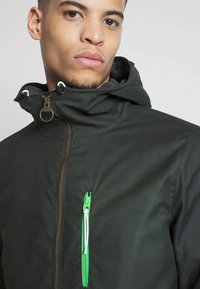 Barbour Beacon - HAWTHORN WAX - Summer jacket - sage - 3