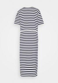 Lacoste - Jersey dress - navy blue/flour - 5