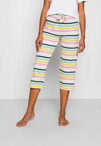 Marks & Spencer London - DEAL STRIPE - Pyjama bottoms - multi - 0
