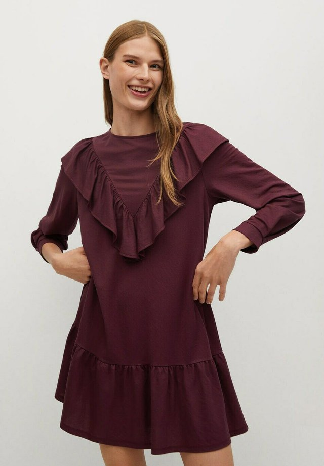 ADELINA - Day dress - paars