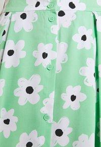 Monki - SIGRID BUTTON SKIRT - A-line skirt - green light - 4