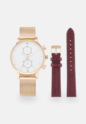 SET - Watch - brown/rose gold-coloured
