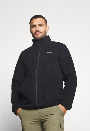 RUGGED RIDGEII - Fleece jacket - black