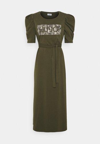 ABITO UNITA - Jersey dress - army