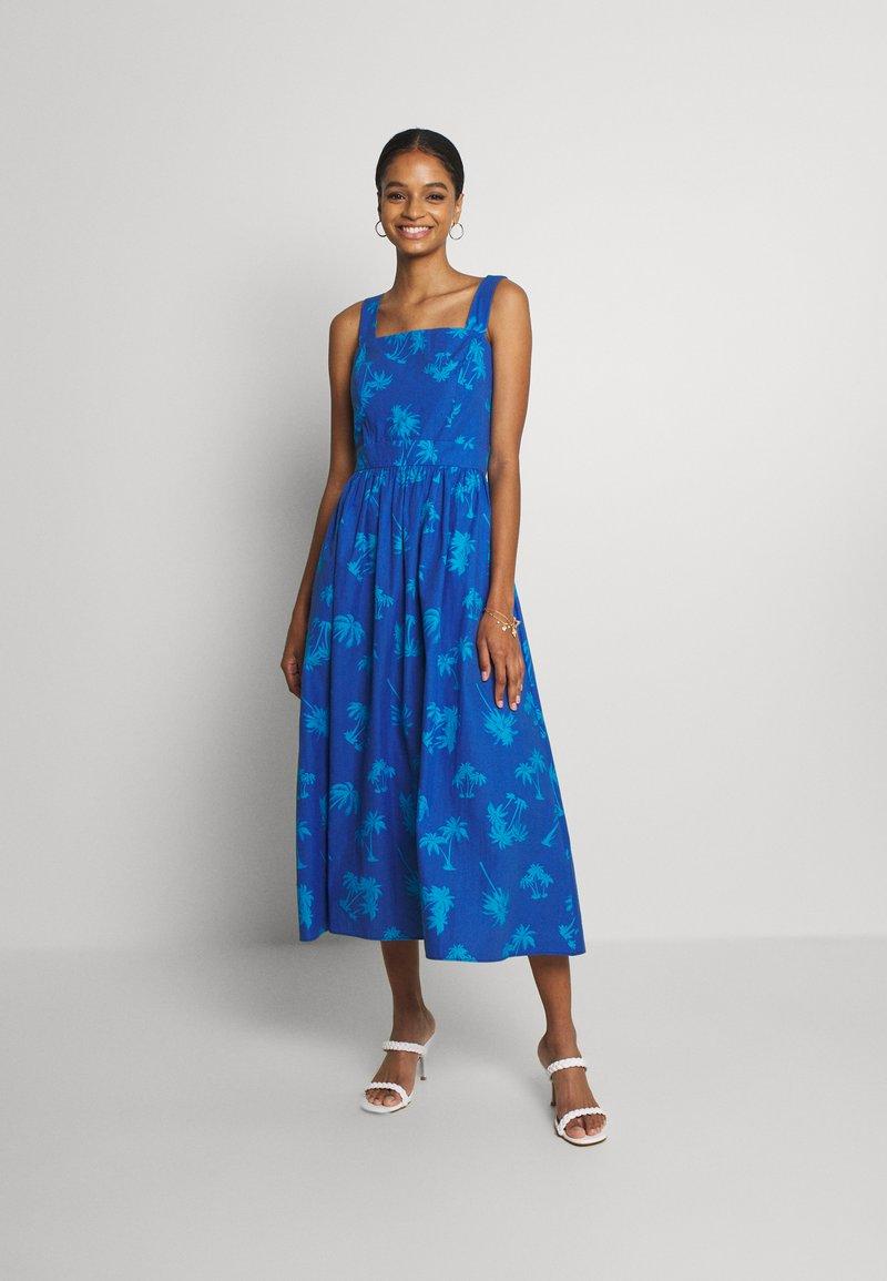 Never Fully Dressed - PALM DRESS - Day dress - blue