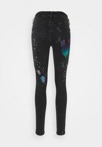 Diesel - SLANDY - Jeans Skinny Fit - black / multicolor - 1